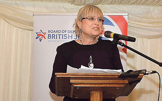 Board president Marie van der Zyl (Jewish News)
