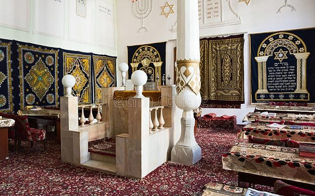 The synagogue of Bukhara. This photo is courtesy of the Department of Tourism Development of the Bukhara Region.