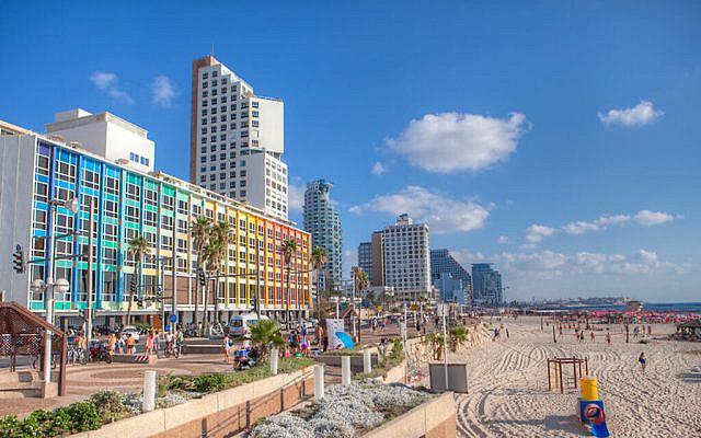 Tel Aviv Beach (Credit: Dana Friedlander for the Israeli Ministry of Tourism.) via Jewish News