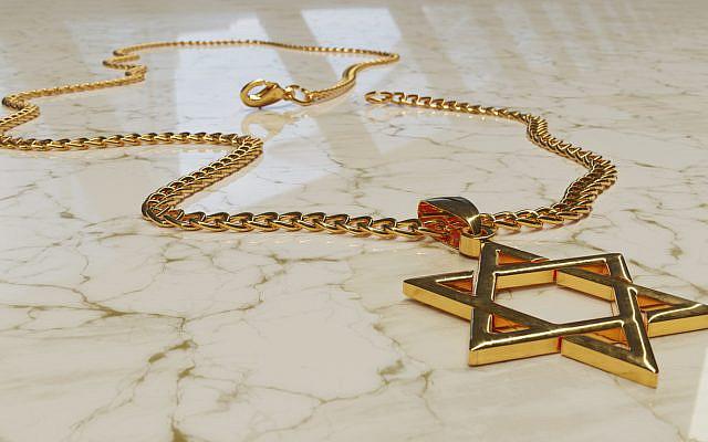 (Star of David necklace - iStock)