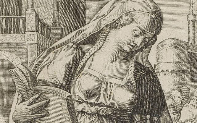 """""""There was a priest who… desired a very beautiful woman…"""" (Image source: Rijksmuseum / Public Domain)"""