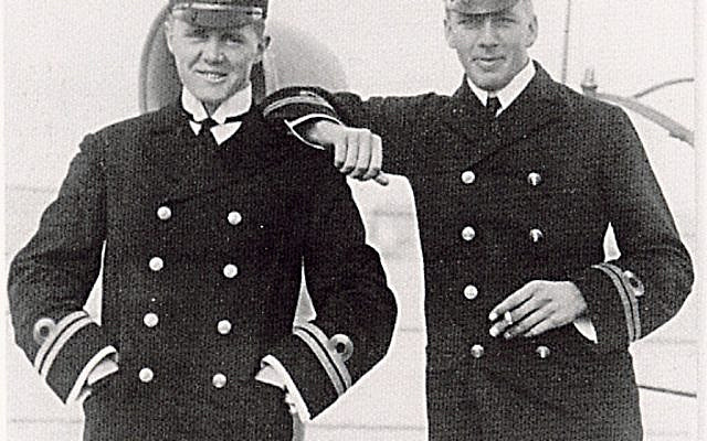 Admiral Sir Max Horton (left) while serving in the Baltic.