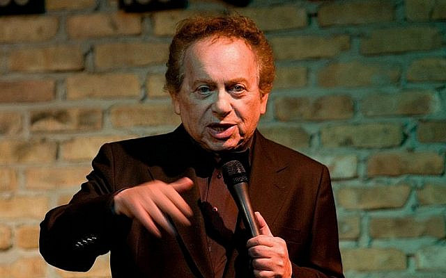 Comedian Jackie Mason isn't shy about sharing his political opinions. (Courtesy, via The Times of Israel)