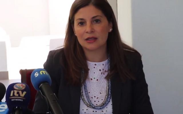 Hanan Jarrar, Palestinian Ambassador to South Africa, (Nausheena Mahomed)