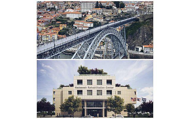 The City of Porto, Portugal and the Hadassah Hospital Mount Scopus Rehabilitation Center in Jerusalem.