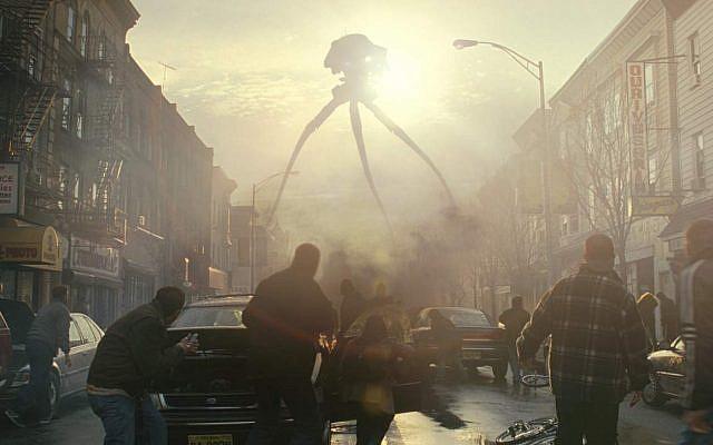 Scene from  Steven Spielberg's 'War of the Worlds'
