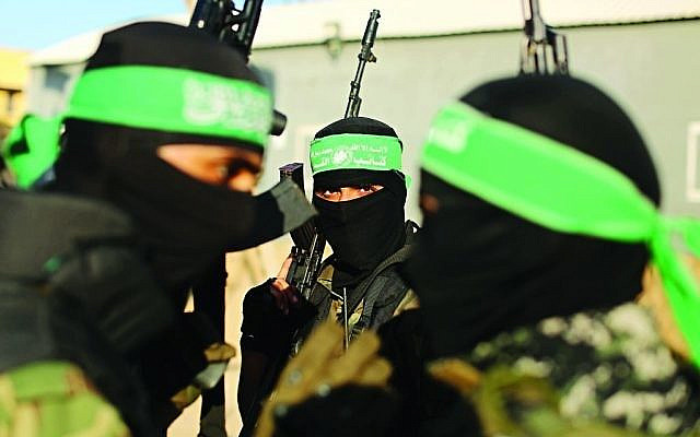 Hamas fighters ( Via Jewish News )