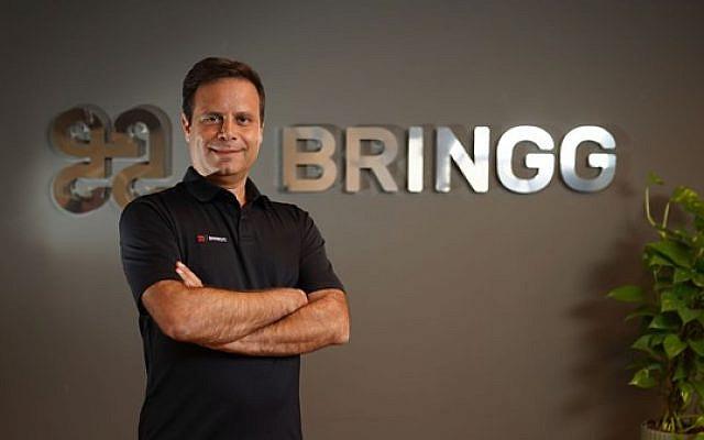 Guy Bloch, CEO, Bringg Photo: Joya