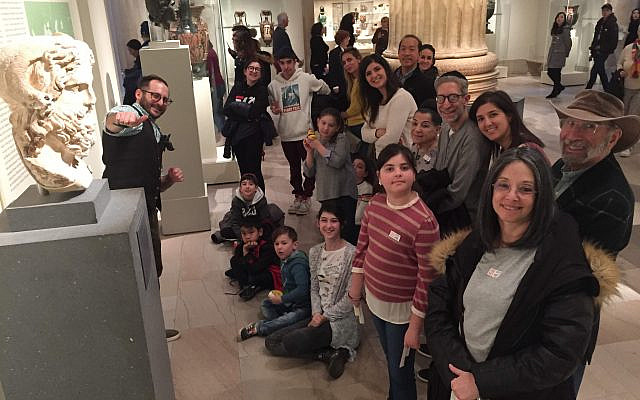 Family fun in the museum