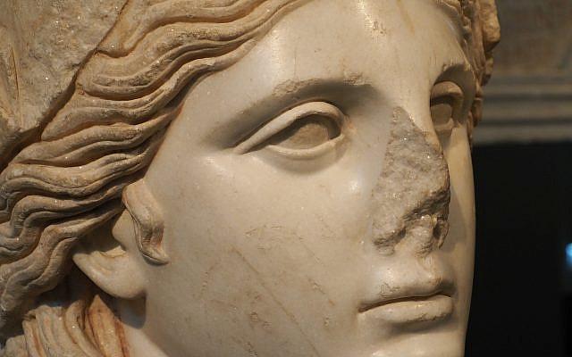 Athena-Patron Goddess of Athens-photo by Geoffrey Clarfield