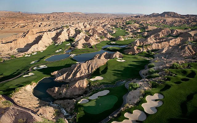 Wolf Creek Golf Course, Nevada. Photo by Kate A. Hardy