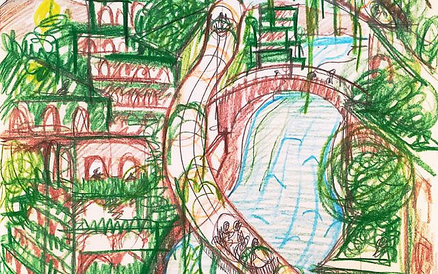 City and Nature intertwining when our Collective and Individual voices are harnessed for a just, vibrant and biodiverse stewardship of our planet (image by Miriam Waltz)