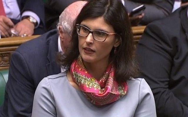 Layla Moran in the Commons (via Jewish News)
