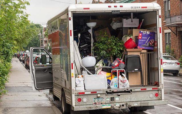 Illustrative. A full moving truck. (iStock)