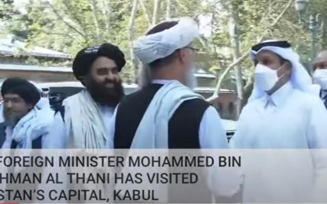 Sheikh Al-Thani visits Kabul