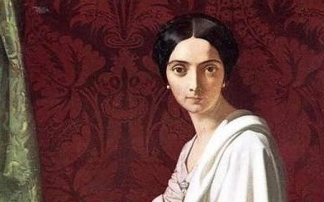 Princess Cristina Trivulzio Belgiojoso, in 1843 by Henri Lehmann. (Public Domain/ Wikimedia Commons)