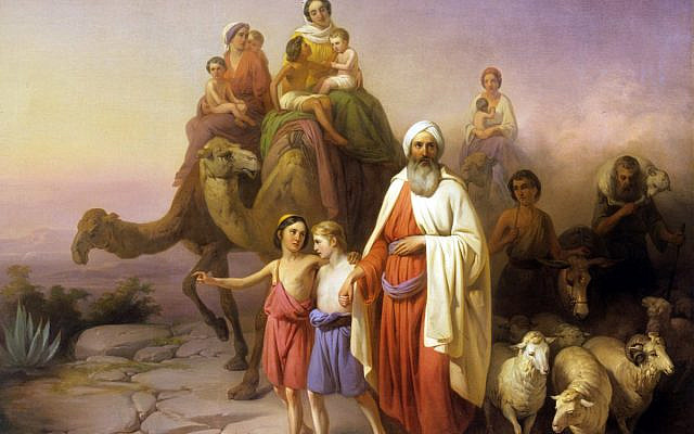 Molnar, Abraham's Journey from Ur To Canaan (Wikimedia Commons)