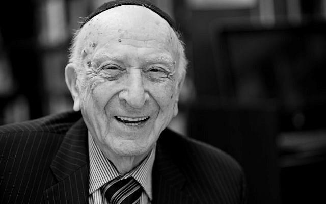 Rabbi David Eliach.