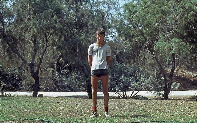 Self portrait of the author at Kibbutz Palmachim in 1979.