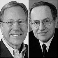 Irwin Cotler and Alan M. Dershowitz