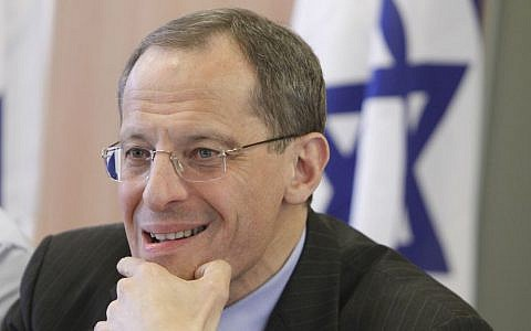 Prof. Eugene Kandel, CEO of Startup Nation Central, a non profit organization. Kandel was formerly the head of Israel's National Economic Council. (Miriam Alster/Flash90)