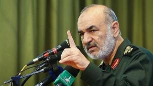 حسین سلامی، فرمانده کل سپاه پاسداران - تسنیم