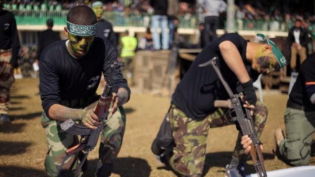 اعضای حماس در جنوب غزه - خبرگزاری فرانسه