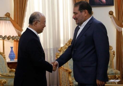 علی شمخانی نماینده علی خامنه ای و دبیر شورای عالی امنیت ملی ایران