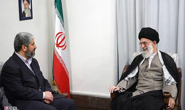 خامنه ای - مقام ارشد حماس منبع: فارس