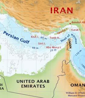 خلیج فارس - جغرافیای منطقه
