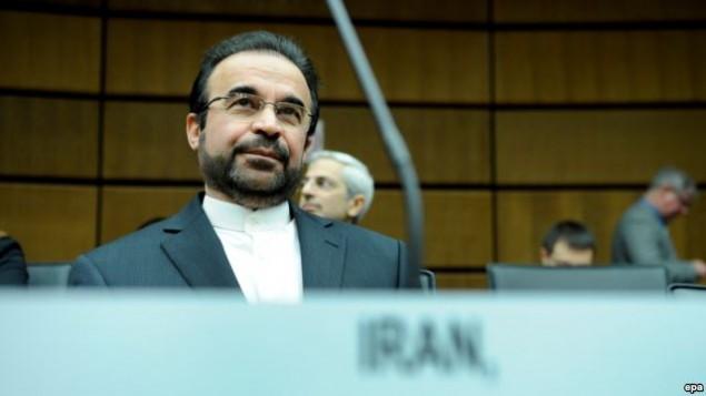 نجفی - نماینده ایران در آژانس