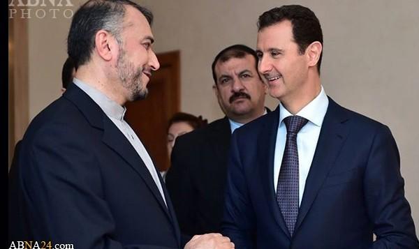 معاون وزیر خارجه ایران و بشار اسد، رئیس جمهور سوریه - آبنا