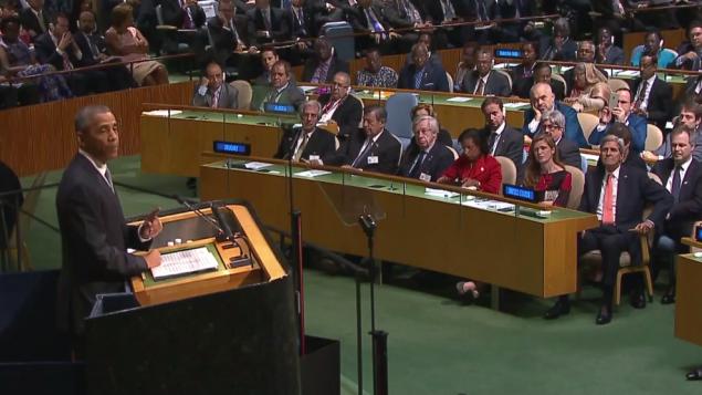 اوباما در سازمان ملل 2015