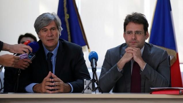 دو مقام ارشد فرانسوی- عکس: عطا کناره - خبرگزاری فرانسه