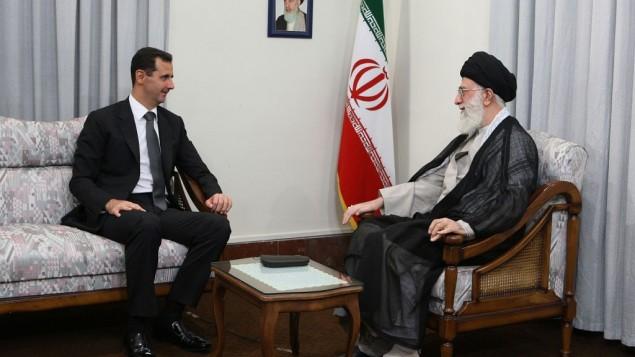 اسد - خامنه ای - سایت رهبری