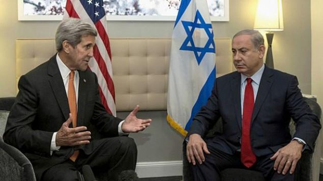 کری - نتانیاهو در برلین- عکس از آسوشیتدپرس