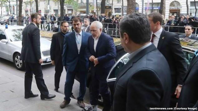 جواد ظریف در وین - عکس از تسنیم