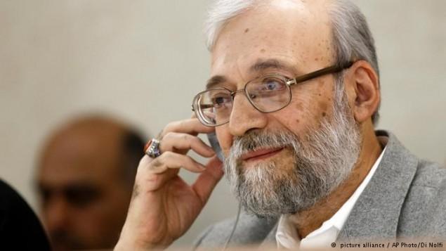 جواد لاریجانی- مقام ارشد ستاد حقوق بشر قوه قضائیه رژیم ایران- عکس از دی نولفی، آسوشیتدپرس