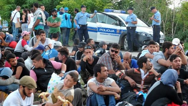 پناهجویان سوری - عکس از الوویس - خبرگزاری فرانسه