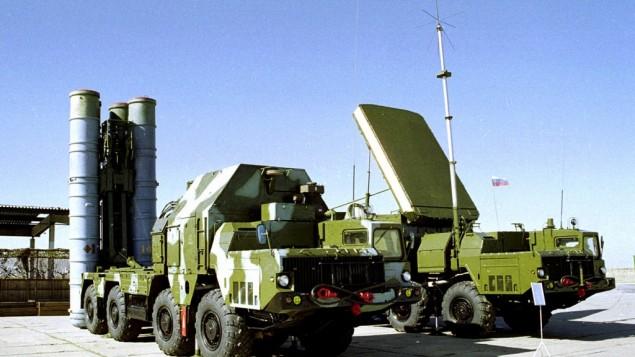 سامانه موشکی اس300- آسوشیتدپرس