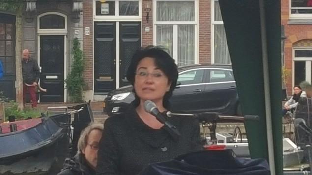 حنین زوبی در هلند- عکس از مات لبوویچ