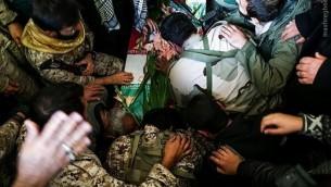 یکی از کشته شدگان سپاه در جنگ سوریه