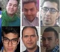 بازداشت شدگان اخیر- عکس از شبکه های اجتماعی