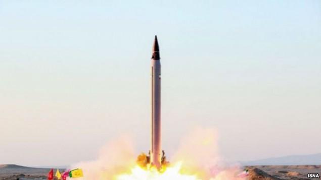 آزمایش موشکی ایران - ایسنا