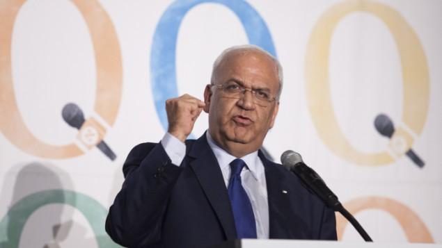 «صائب عریقات»، مذاکره کننده ارشد تشکیلات خودگردان فلسطینی