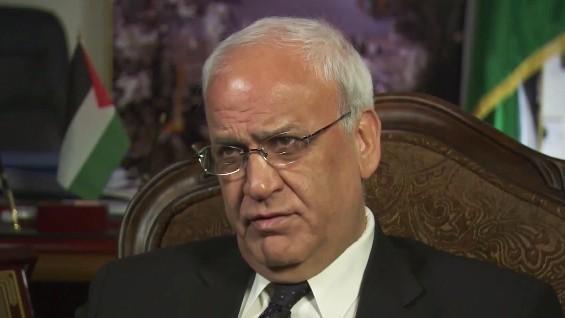 مذاکره کننده ارشد فلسطینی