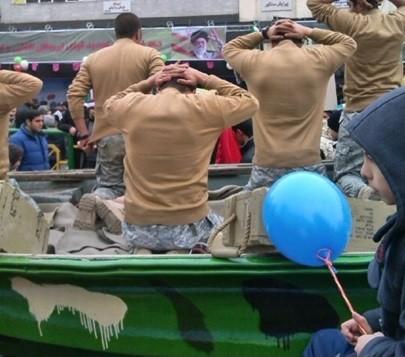 صحنه سازی تحقیر آمریکا در تهران