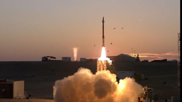آزمایش موشک بالستیک توسط سپاه