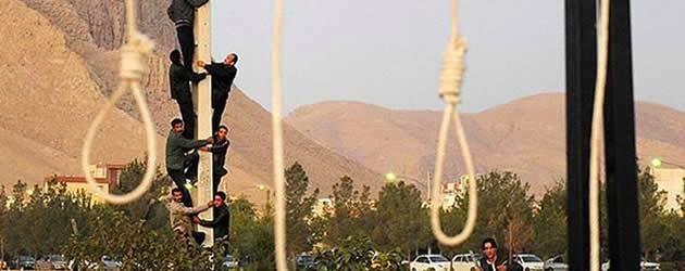اعدام در ایران - عکس از یک صحنه خیایانی