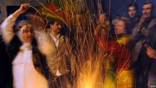 عکس آرشیوی از مراسم نوروز کردها در استانبول  - خبرگزاری فرانسه